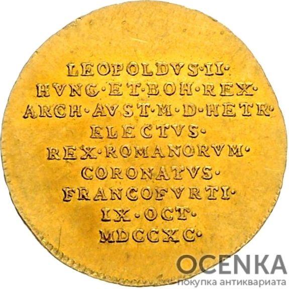 Золотая монета ¾ Дуката Германия - 5
