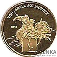 Золотая монета 1500 Франков (1500 Francs) Камеруна - 2