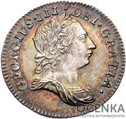 Серебряная монета 3 Пенса (3 Pence) Великобритания - 1