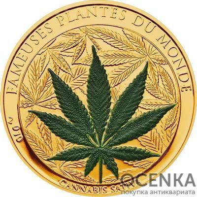 Золотая монета 100 Франков Бенина - 1