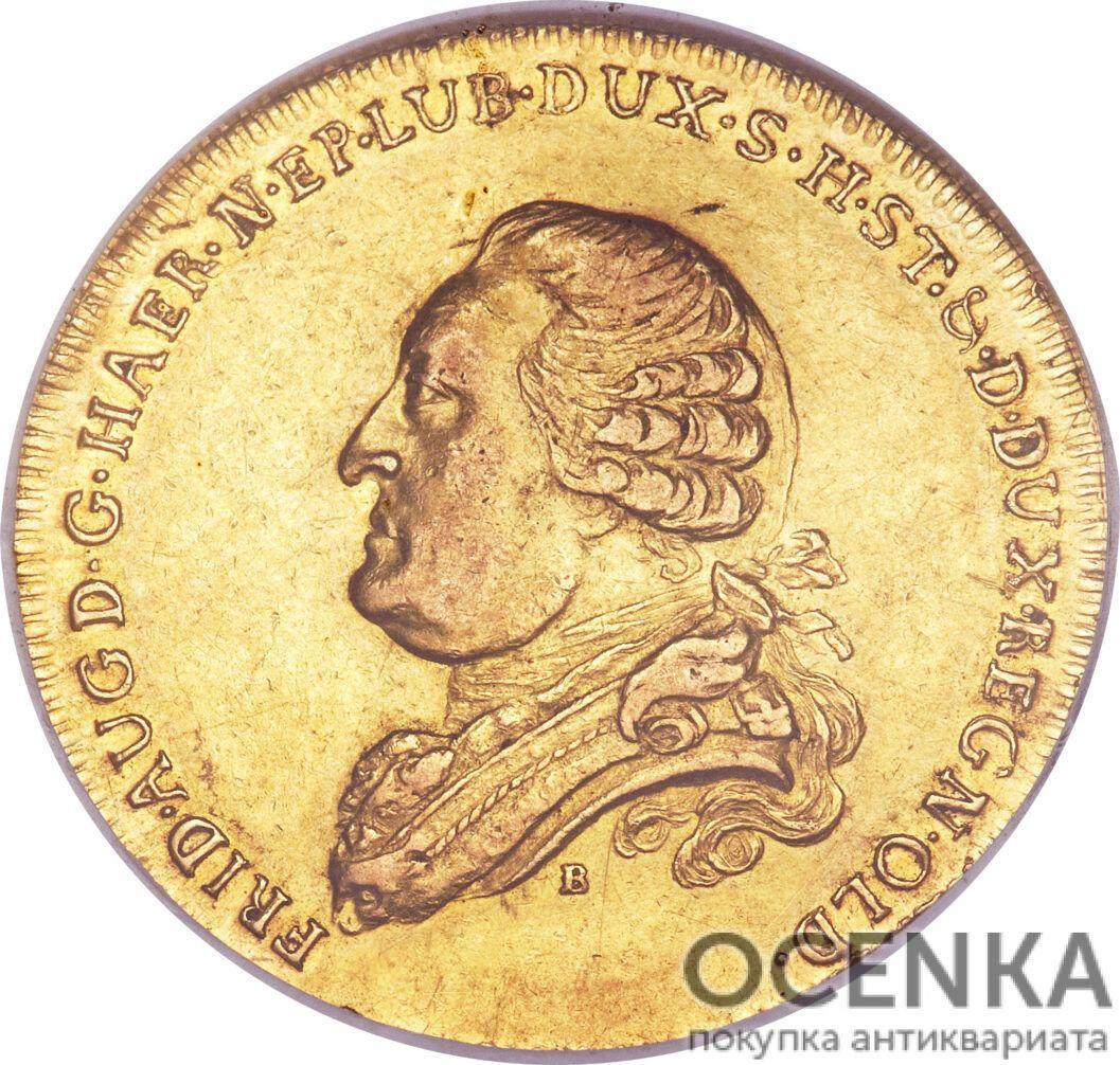 Золотая монета 5 Талеров Германия - 5