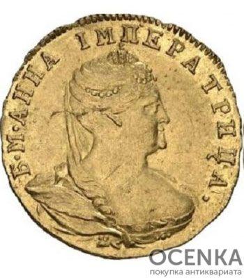 1 червонец 1738 года Анна Иоанновна - 1