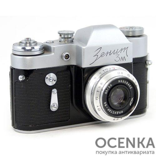 Фотоаппарат Зенит-3М КМЗ 1962-1970 год