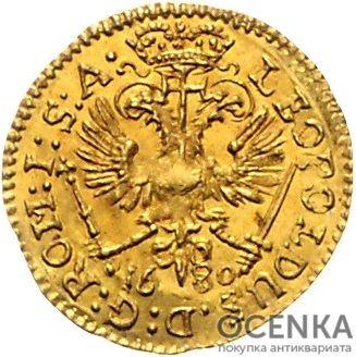 Золотая монета ¼ Дуката Германия - 2