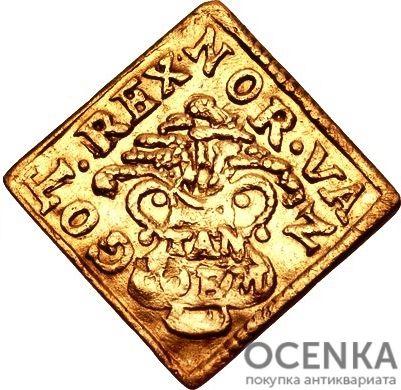 Золотая монета ½ Дуката (½ Ducat) Дания - 4