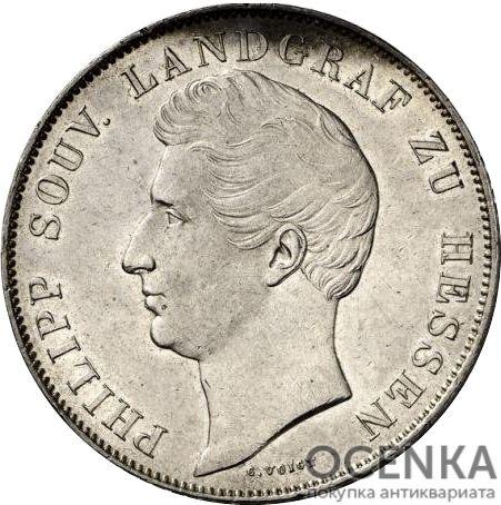 Серебряная монета 2 Гульдена (2 Gulden) Германия - 3