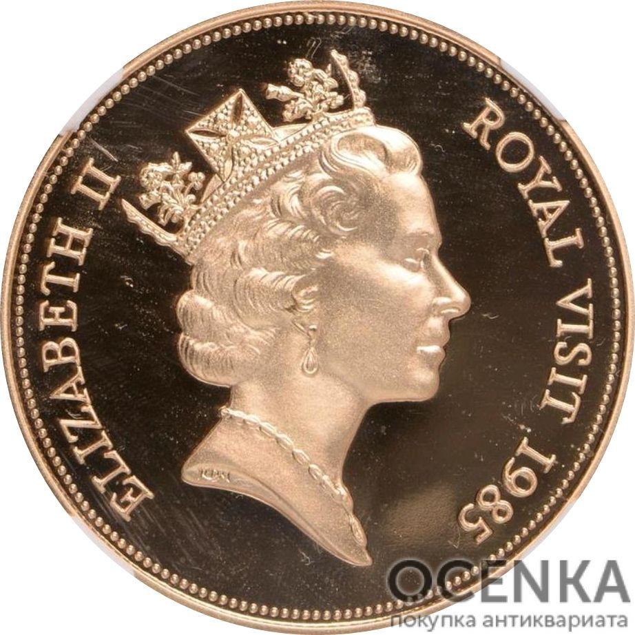 Золотая монета 500 долларов Белиза - 1