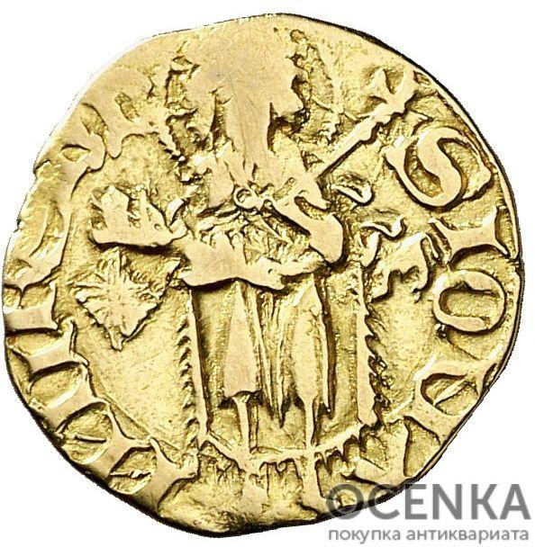 Золотая монета ½ Флорина (½ Florin) Испания - 3