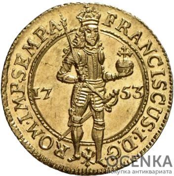 Золотая монета 1 Дукат Германия - 7