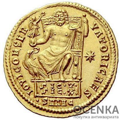 Золотой ауреус, Валерий Лициниан Лициний, 317-324 год - 1