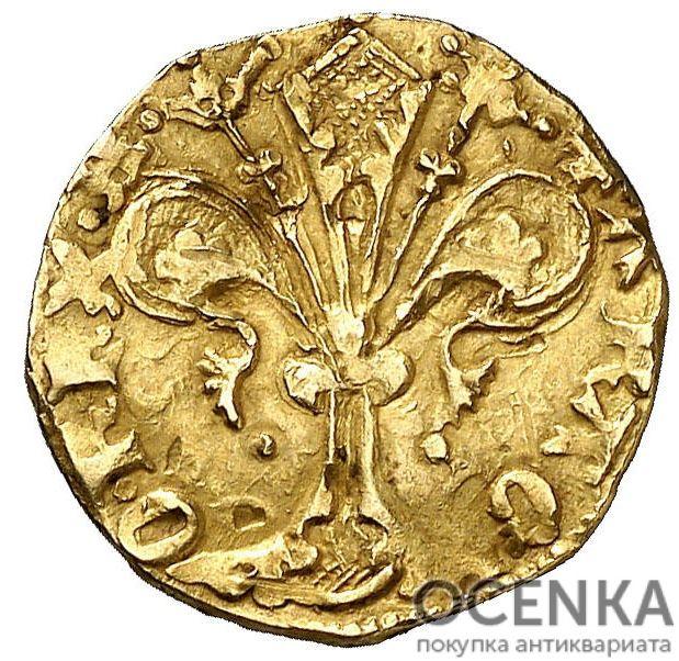 Золотая монета ½ Флорина (½ Florin) Испания - 6