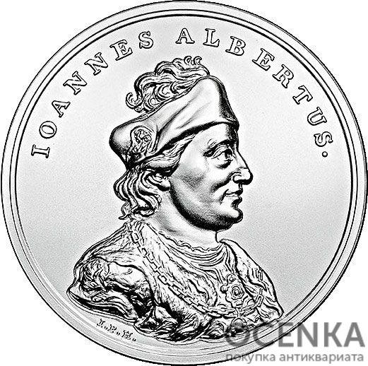Серебряная монета 50 Злотых (50 Złotych) Польша - 5