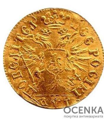 1 червонец 1703 года Петр 1