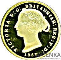 Золотая монета 1 Доллар Островов Кука - 2