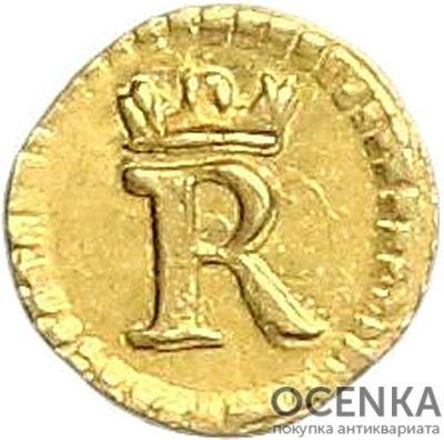 Золотая монета 1/32 Дуката Германия