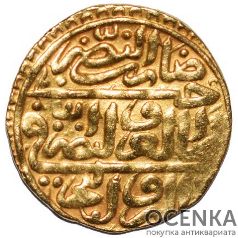 Золотая монета 1 Султани (1 Sultani) Египет - 2