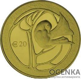 Золотая монета 20 Евро (20 Euro) Кипр - 2