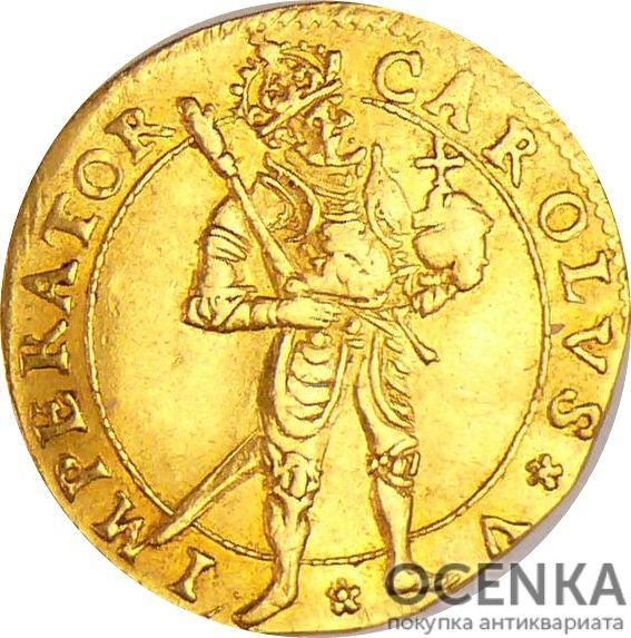 Золотая монета ½ Дуката (½ Ducat) Франция