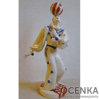 Статуэтка ЛФЗИ Клоун Ангибаров с шаром