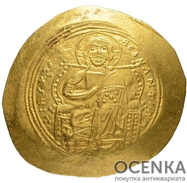 Золотой гистаменон Византии, Константин IX Мономах, 1042-1055 год