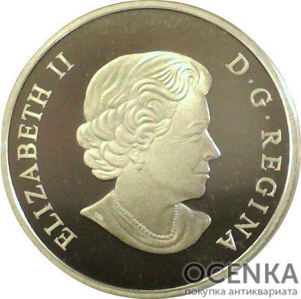 Серебряная монета 200 Долларов Канады - 1