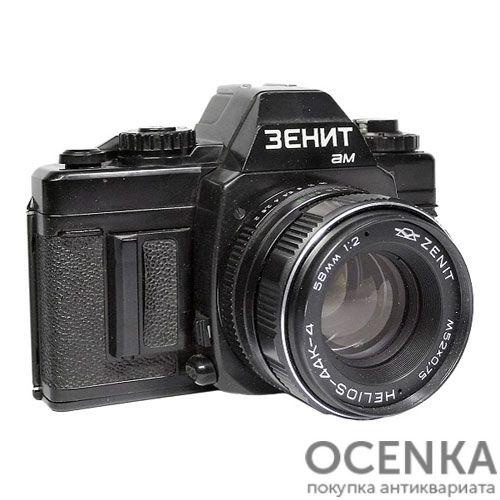 Фотоаппарат Зенит-АМ КМЗ 1988-1989 год