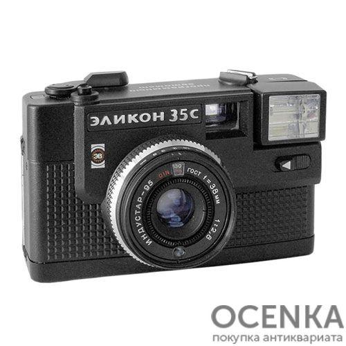 Фотоаппарат Эликон-35С БелОМО 1980-е годы