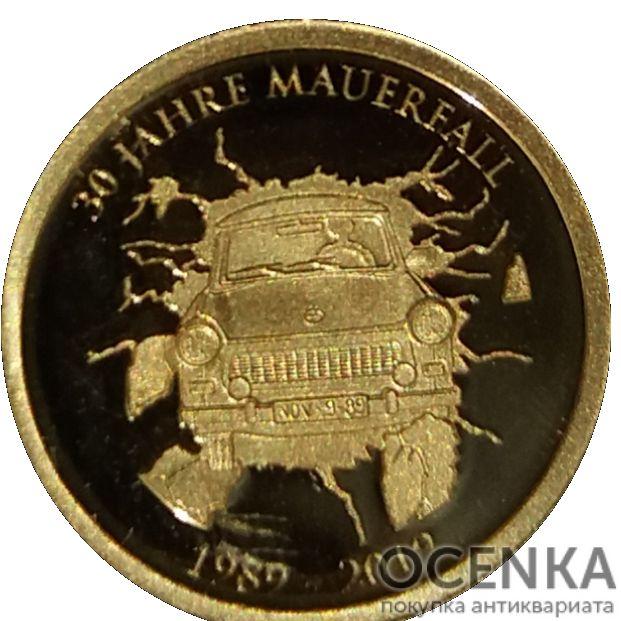 Золотая монета 10 Франков (10 Francs) Конго - 5