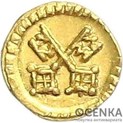 Золотая монета 1/32 Дуката Германия - 1