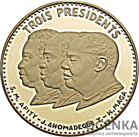 Золотая монета 25 000 Франков Бенина - 1