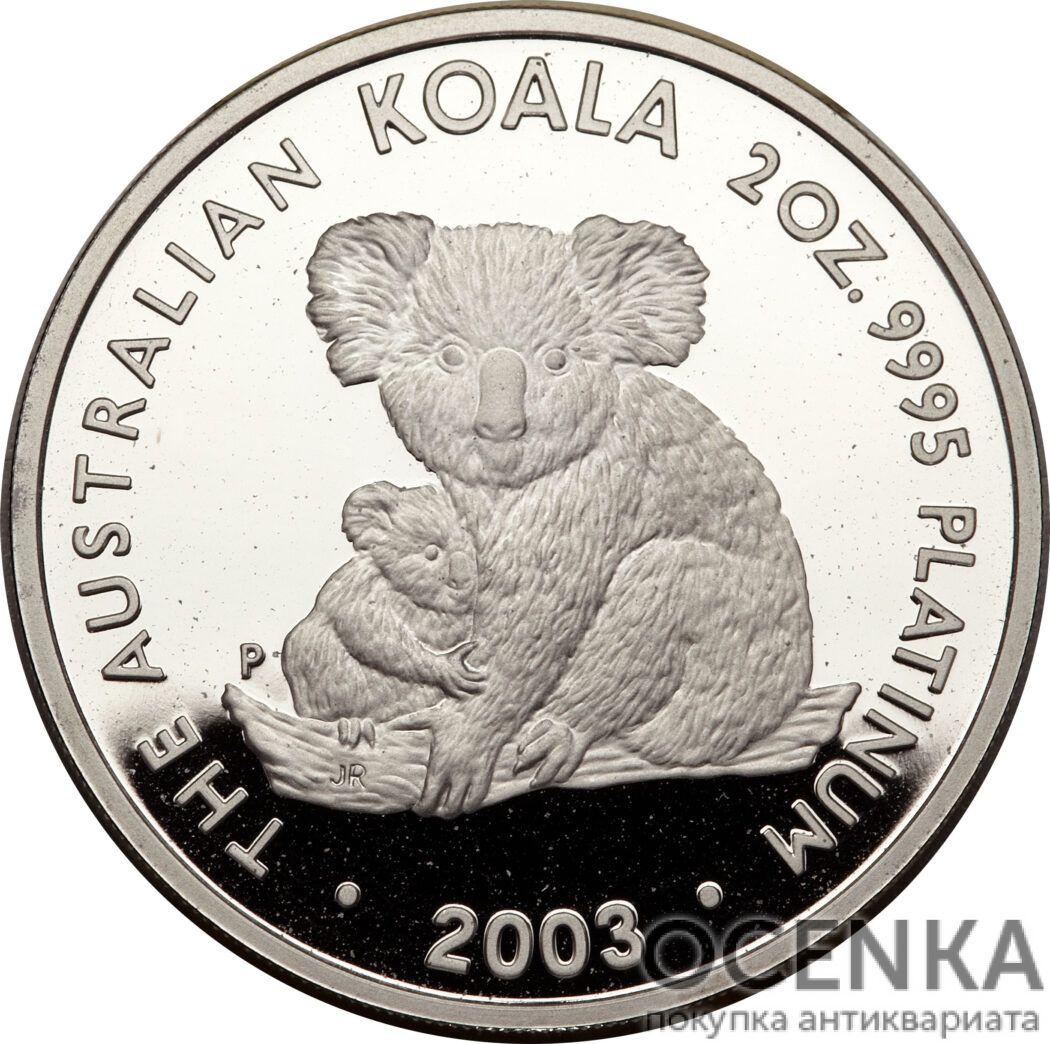 Платиновая монета 200 долларов Австралии - 5