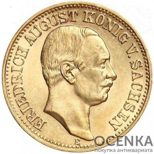 Золотая монета 10 Марок Германия - 7