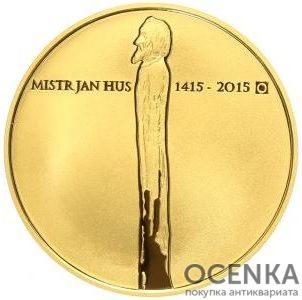 Золотая монета 10 000 Крон (10 000 Korun) Чехия - 1