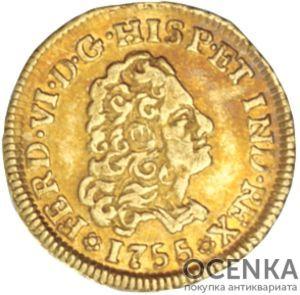 Золотая монета 1 Эскудо (1 Escudo) Чили - 3