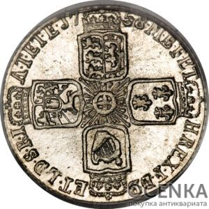 Серебряная монета 6 Пенсов (6 Pence) Великобритания