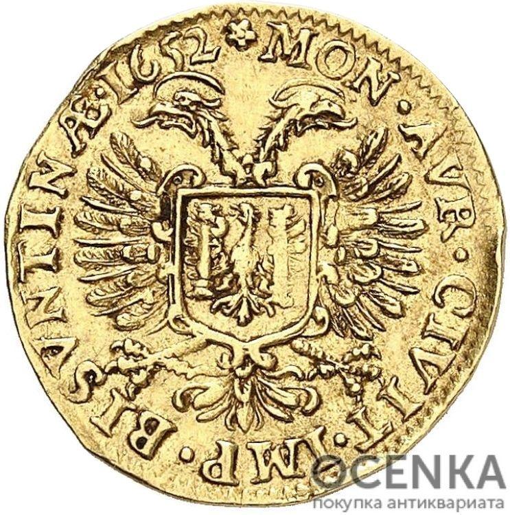 Золотая монета ½ Пистоля (½ Pistolet) Франция