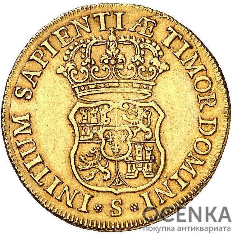 Золотая монета 4 Эскудо (4 Escudos) Испания - 4
