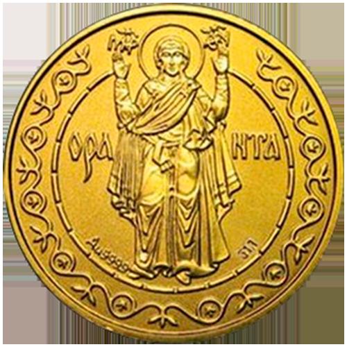 125 гривен 1996 год Оранта в Киеве - 1