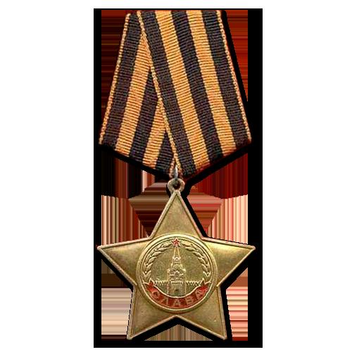 Орден боевая Слава 1 степени