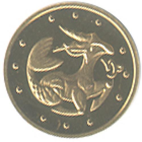 2 гривны 2007 год Козерог