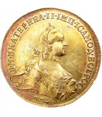 10 рублей 1762 года Екатерина 2 - 1