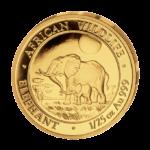 Золотые монеты Центральной Африканской республики