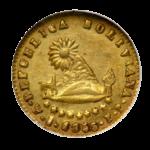 Золотые монеты Боливии