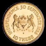 Золотые монеты Ботсваны