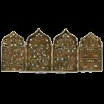 Бронзовые иконы и складны в эмалях
