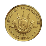 Золотые монеты Бурунди
