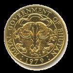 Золотые монеты Бутана