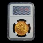 Золотые монеты Царской России в слабах