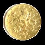 Золотые монеты Чешской Республики