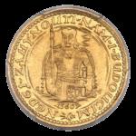 Золотые монеты Чехословакии